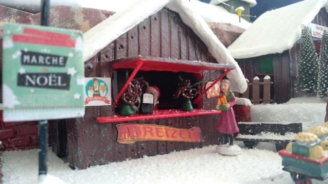 Notre village de Noël 2019 - fait main  Img_2086