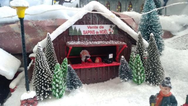 Notre village de Noël 2019 - fait main  Img_2087