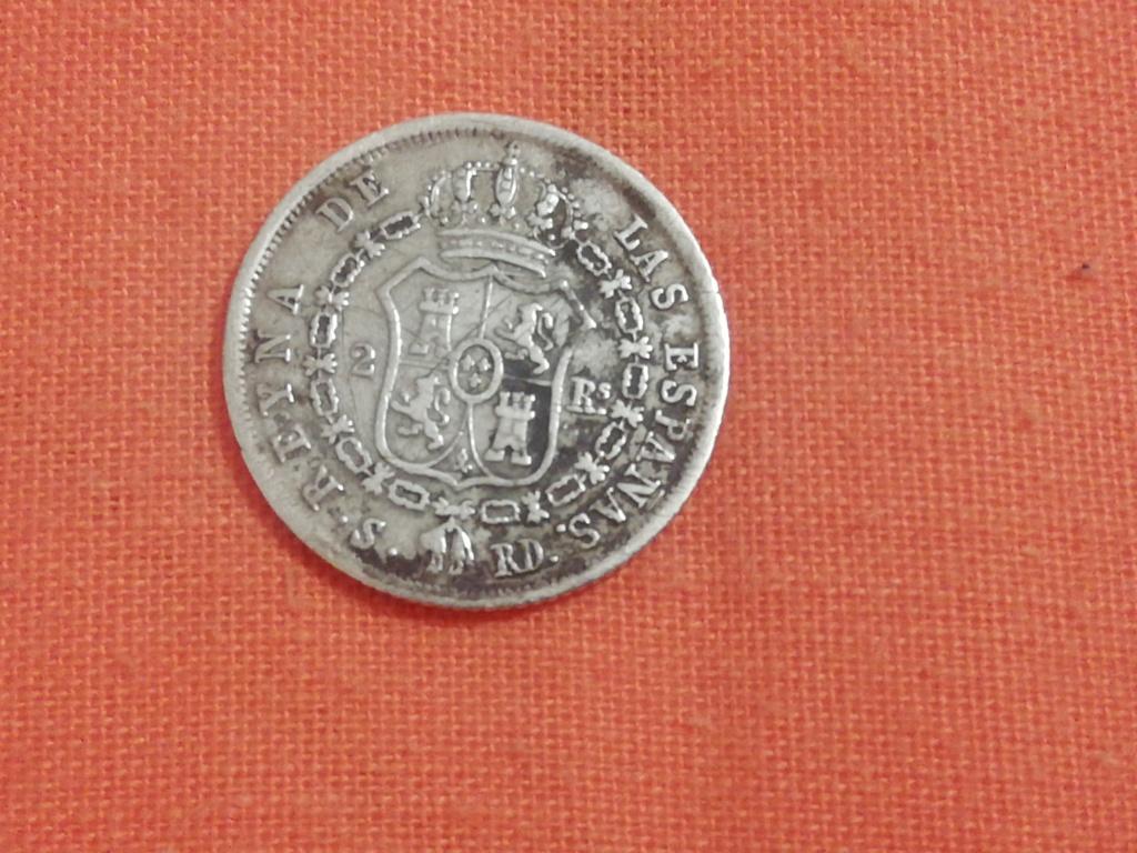 2 reales 1850. Isabel II. Sevilla Img_2016