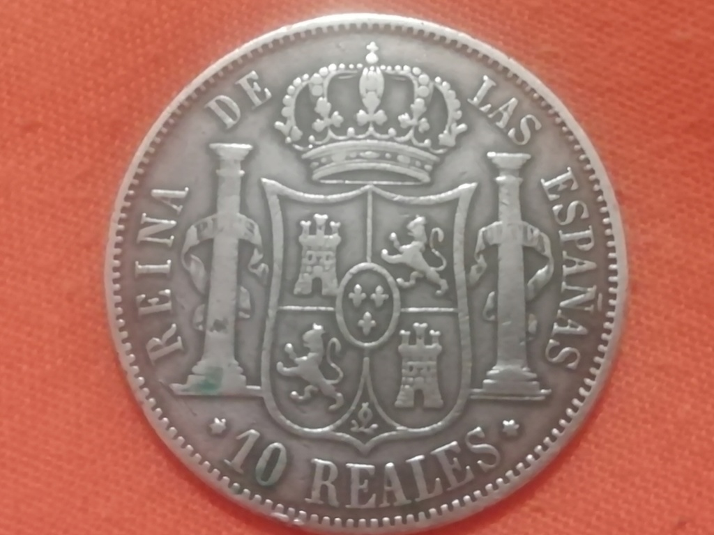 10 reales 1863. Isabel II. Madrid  Img_2023