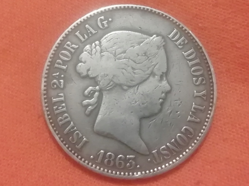 10 reales 1863. Isabel II. Madrid  Img_2024