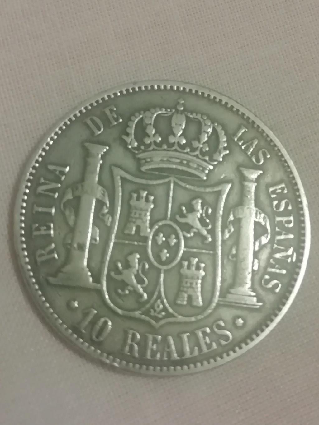 10 reales 1863. Isabel II. Madrid  Img_2025
