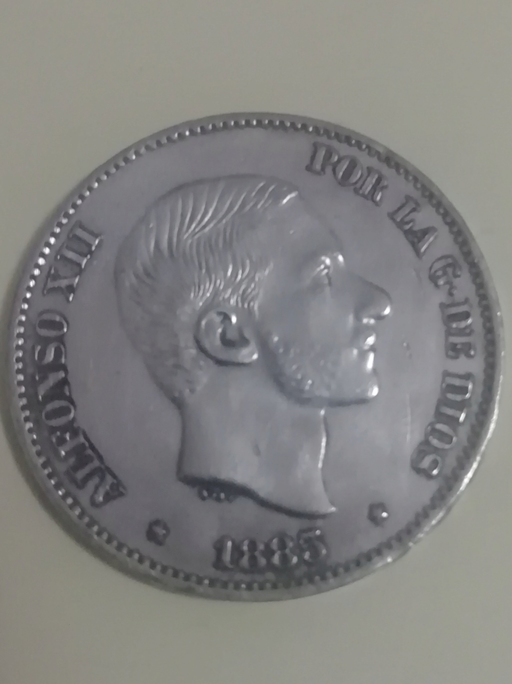 50 centavos de peso 1885. Alfonso XII. Filipinas Img_2027
