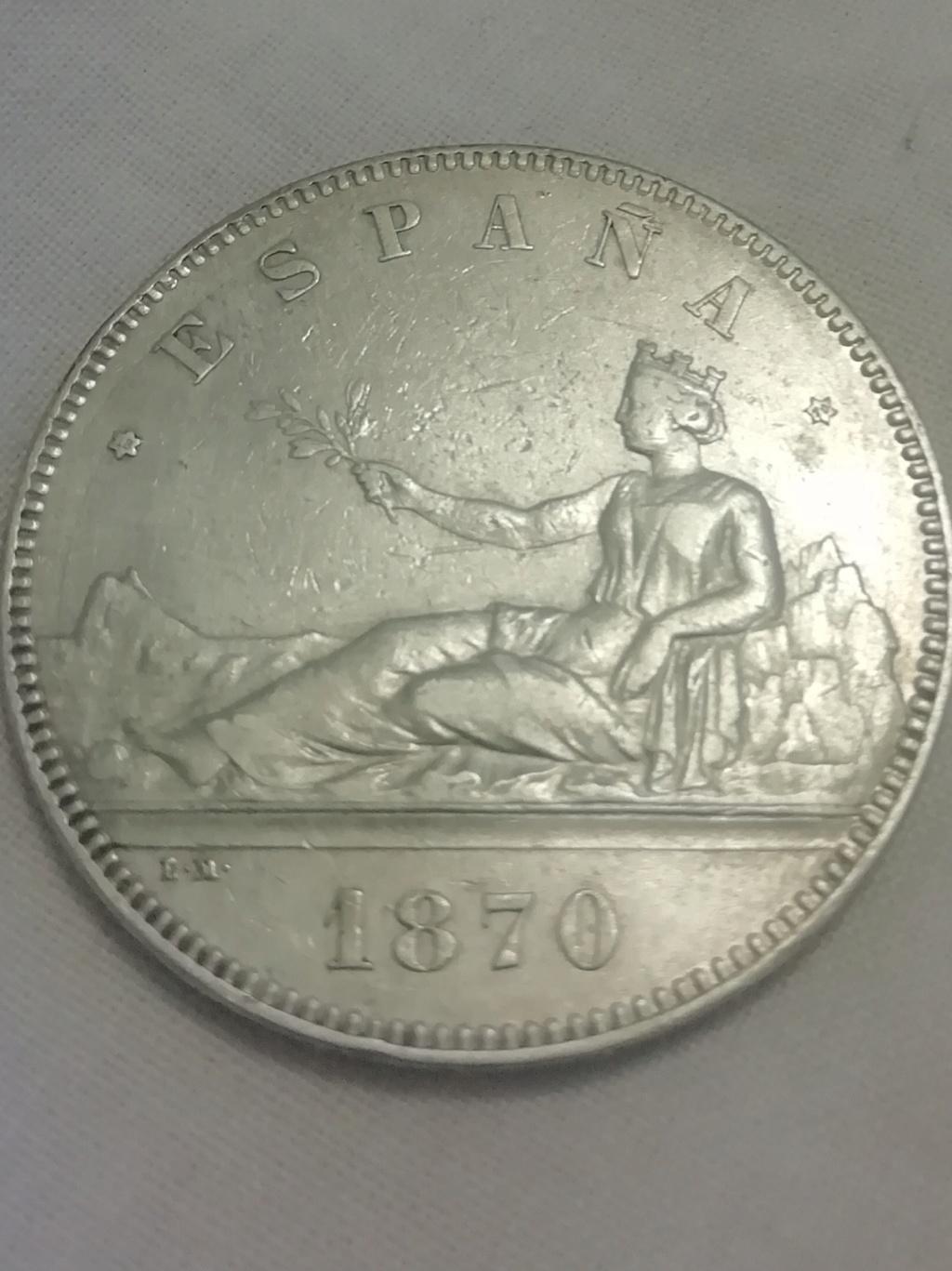 5 pesetas 1870. Gobierno Provisional Img_2030