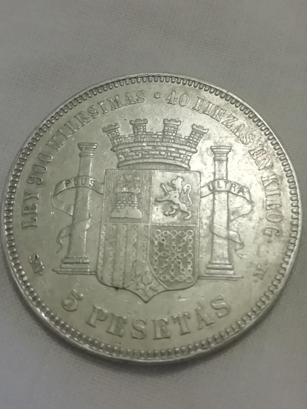 5 pesetas 1870. Gobierno Provisional Img_2031