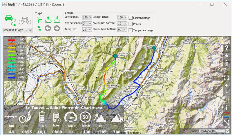 Un logiciel de calcul de trajet avec une bonne précision de consommation pour ZOE Banner10
