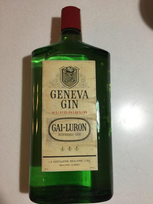 Bouteille intacte et pleine de Gin gai-luron 1962  Img_3519