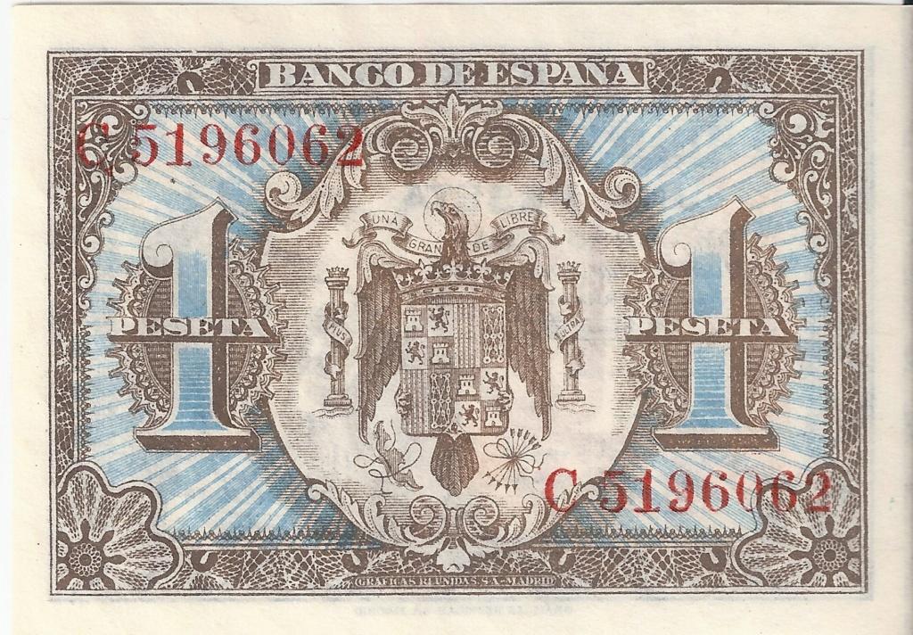 1 Peseta 1 de Junio  1940 - Serie Consecutiva 1_pese12