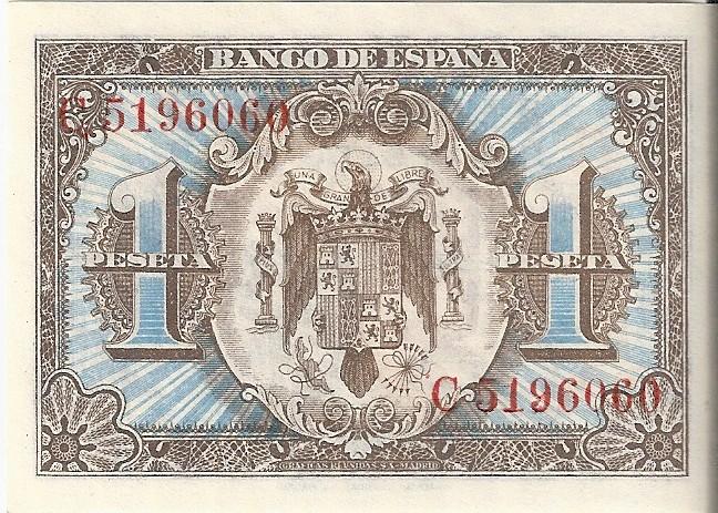 1 Peseta 1 de Junio  1940 - Serie Consecutiva 1_pese13