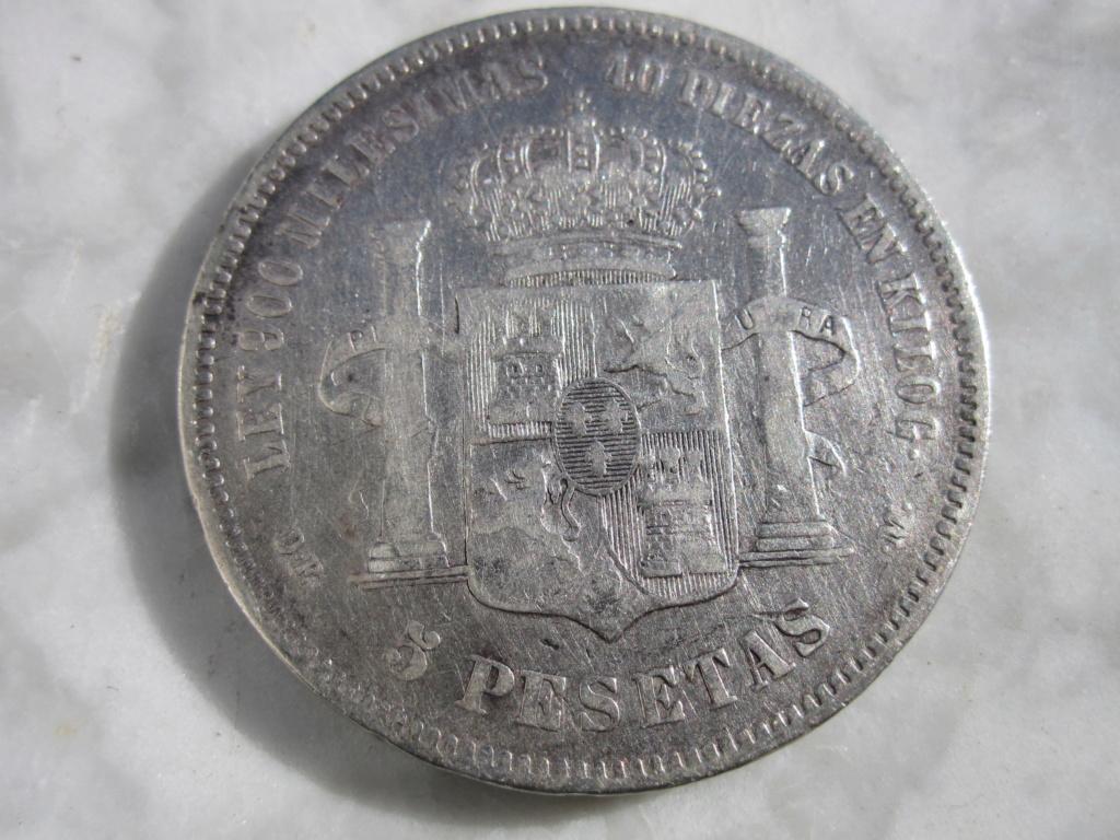 5 Pesetas 1875. Alfonso XII  5_pese21