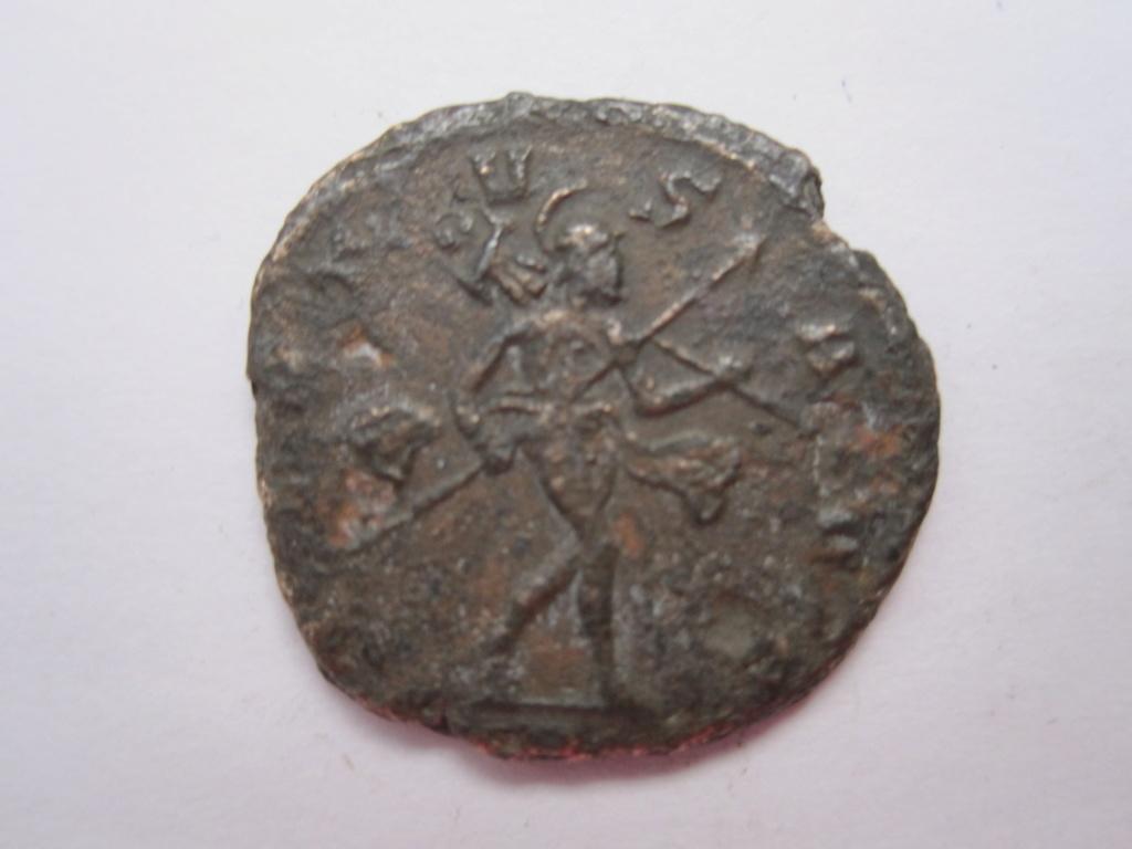 Antoniniano de Claudio II. VIRTVS AVG. Marte a dcha. Milán Img_6510