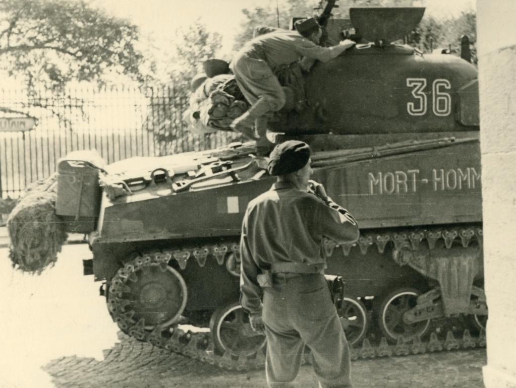 Taille et position des marquages d'un Sherman de la 2ème DB  - Page 2 Mort-h13