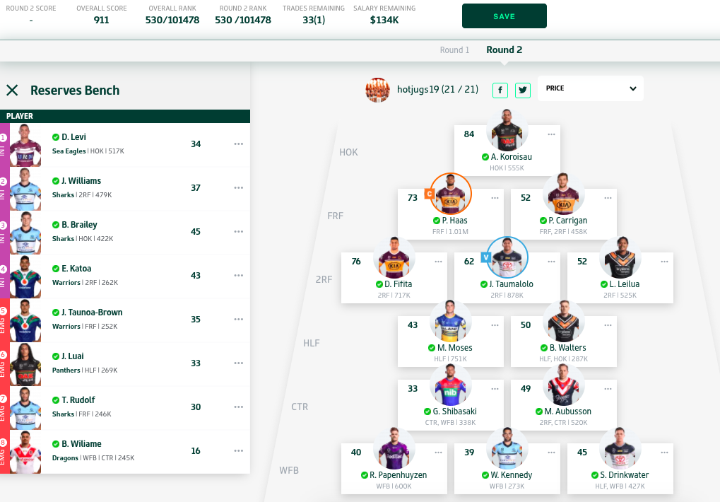 NRL Fantasy 2020 Part 18  - Ditch the duds thread - Page 50 Screen20