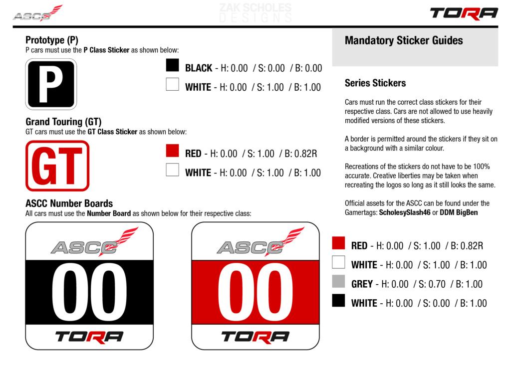 TORA ASCC 2021 - Livery Rules 2021_l41