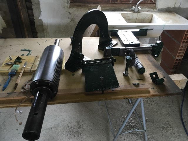 restauration anciennes machines bois Guillet & Fils - Page 2 94357910