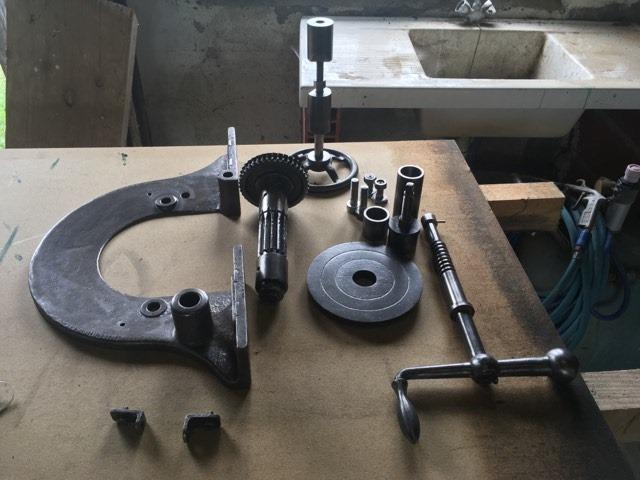 restauration anciennes machines bois Guillet & Fils - Page 2 94361010