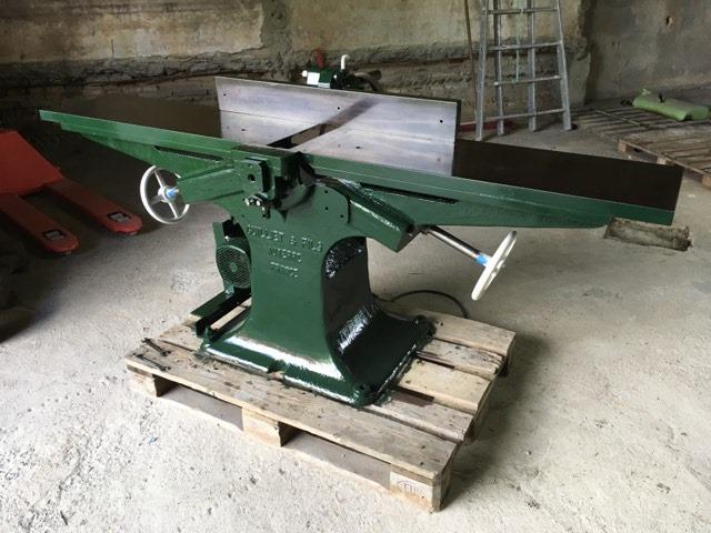 restauration anciennes machines bois Guillet & Fils - Page 5 95553610