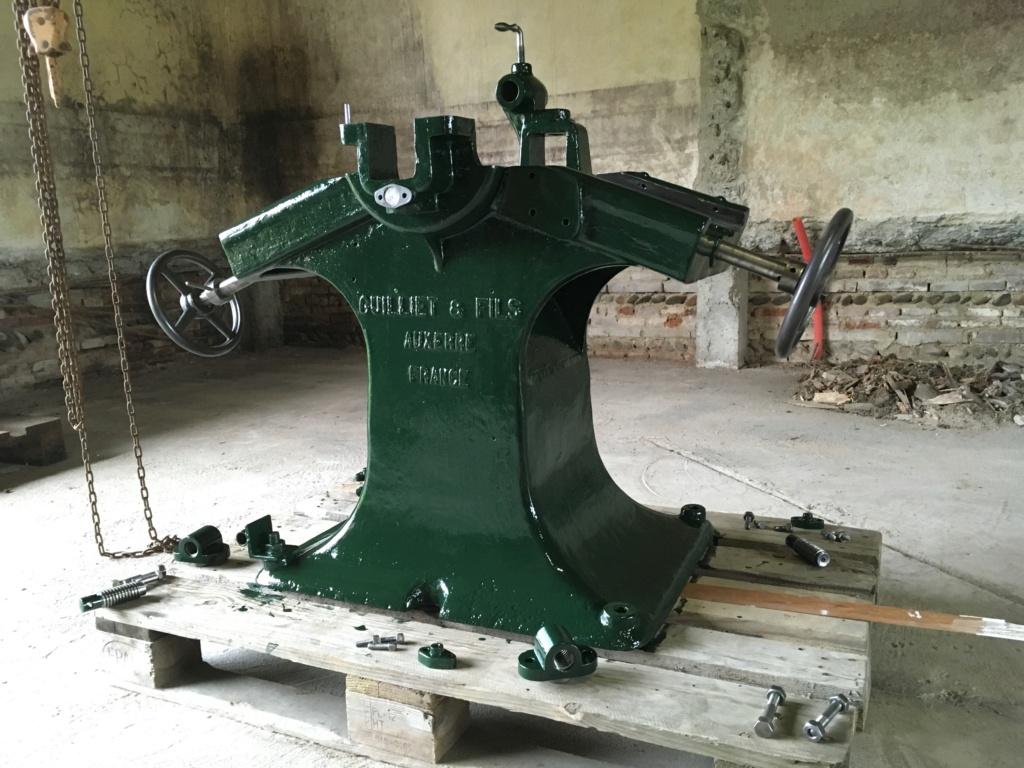 restauration anciennes machines bois Guillet & Fils - Page 2 Img_2712