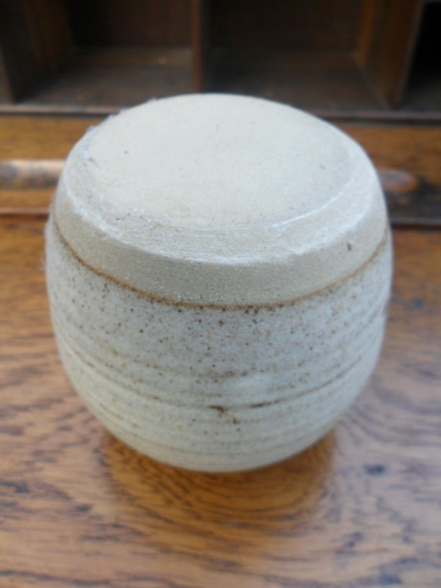 Interesting Small Oriental? style pot. No marks Would love to hear opinions Sam_5125