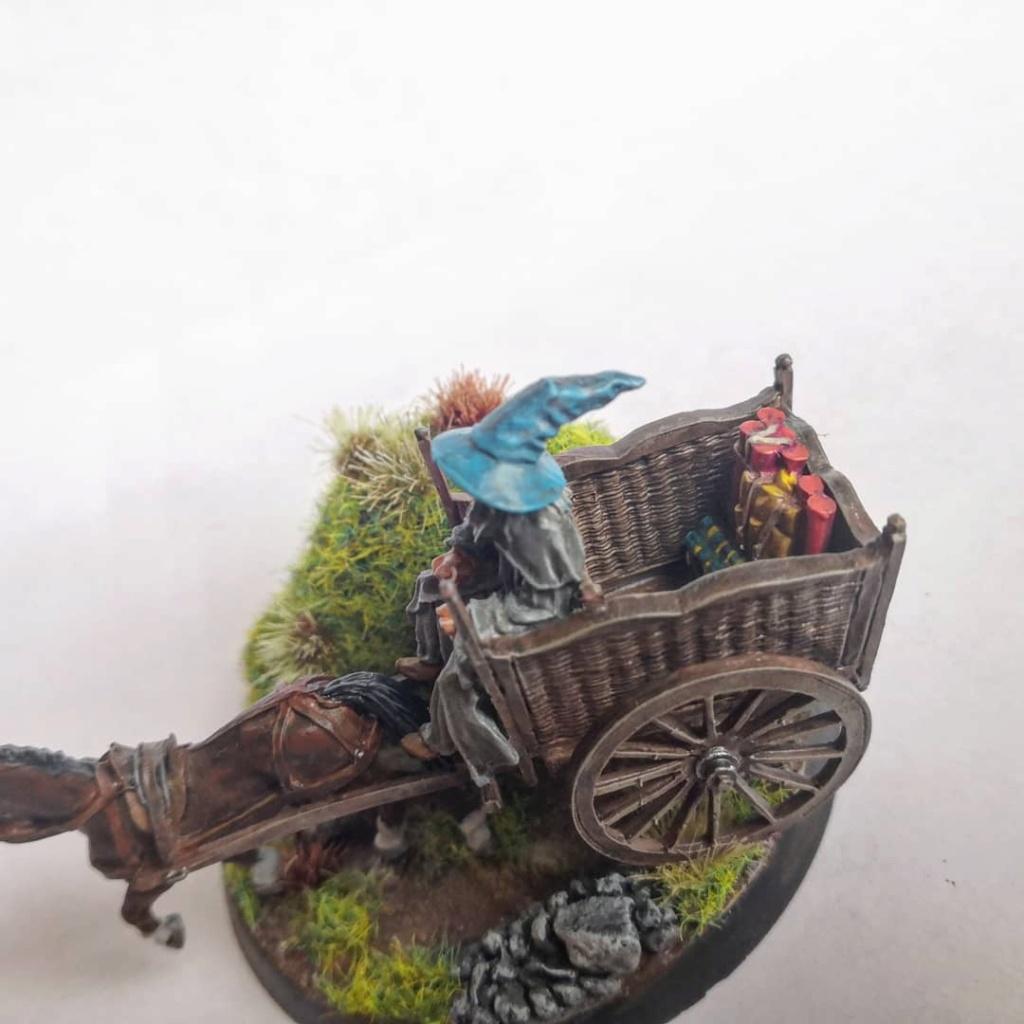 Le Pèlerin Gris sur sa charrette. Img_2210