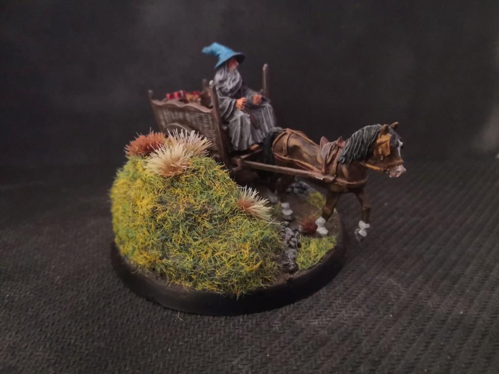 Le Pèlerin Gris sur sa charrette. Img_2213