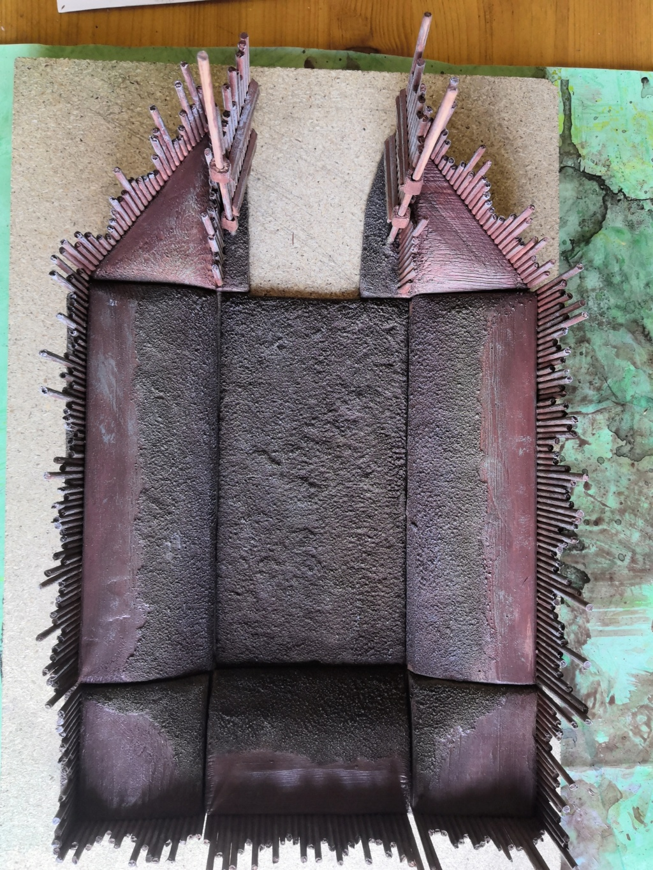 Tuto fort en bois avec palissades P_111