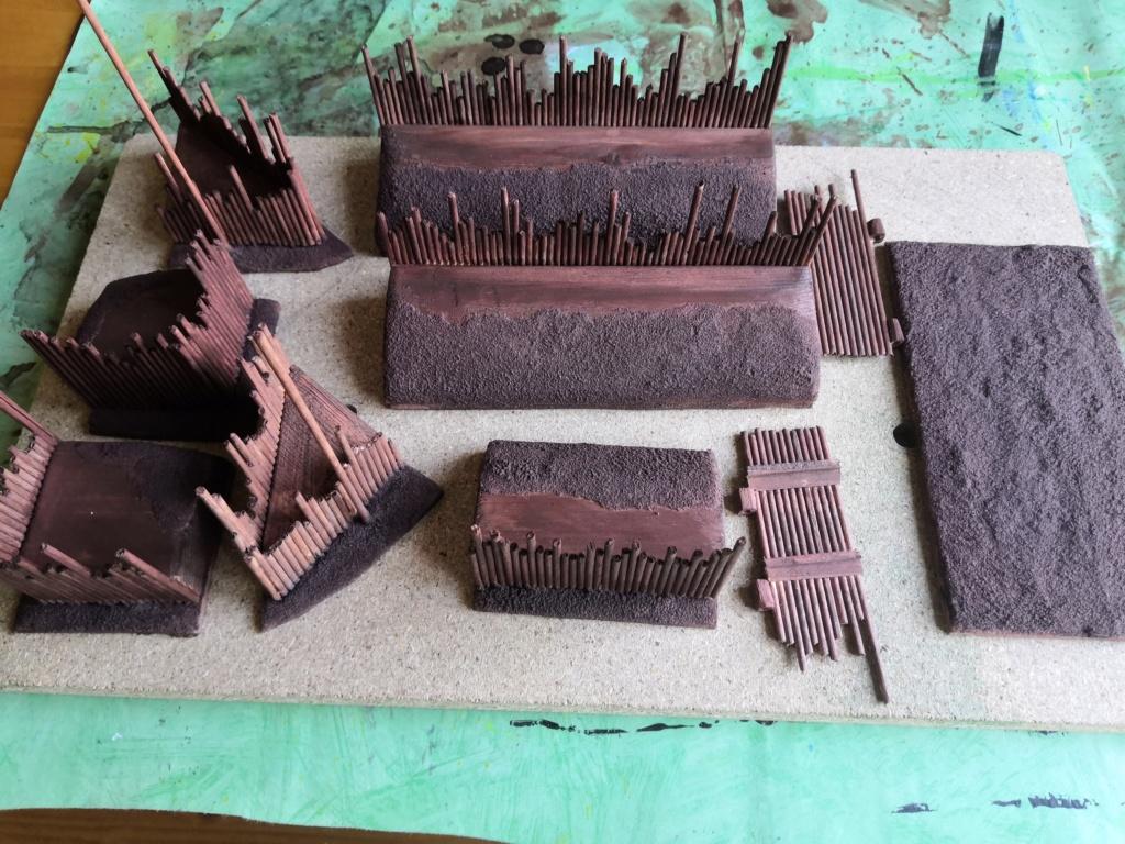 Tuto fort en bois avec palissades P_311