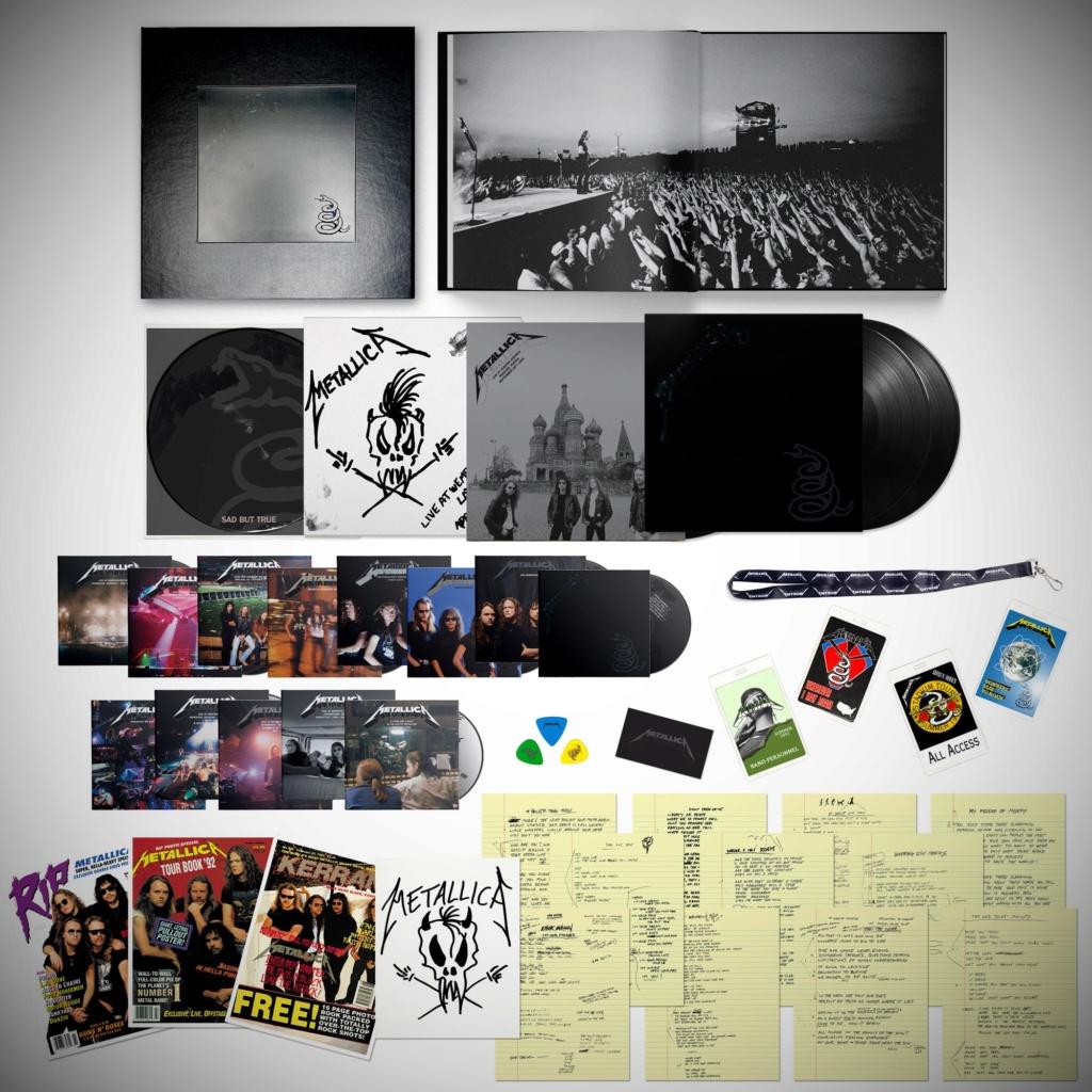 METALLICA - BLACK ALBUM 30th Anniversary Black-12
