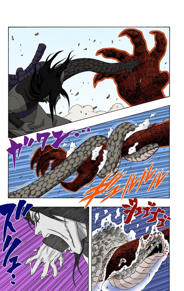 Sasuke (Hebi) vs. Orochimaru 0008710