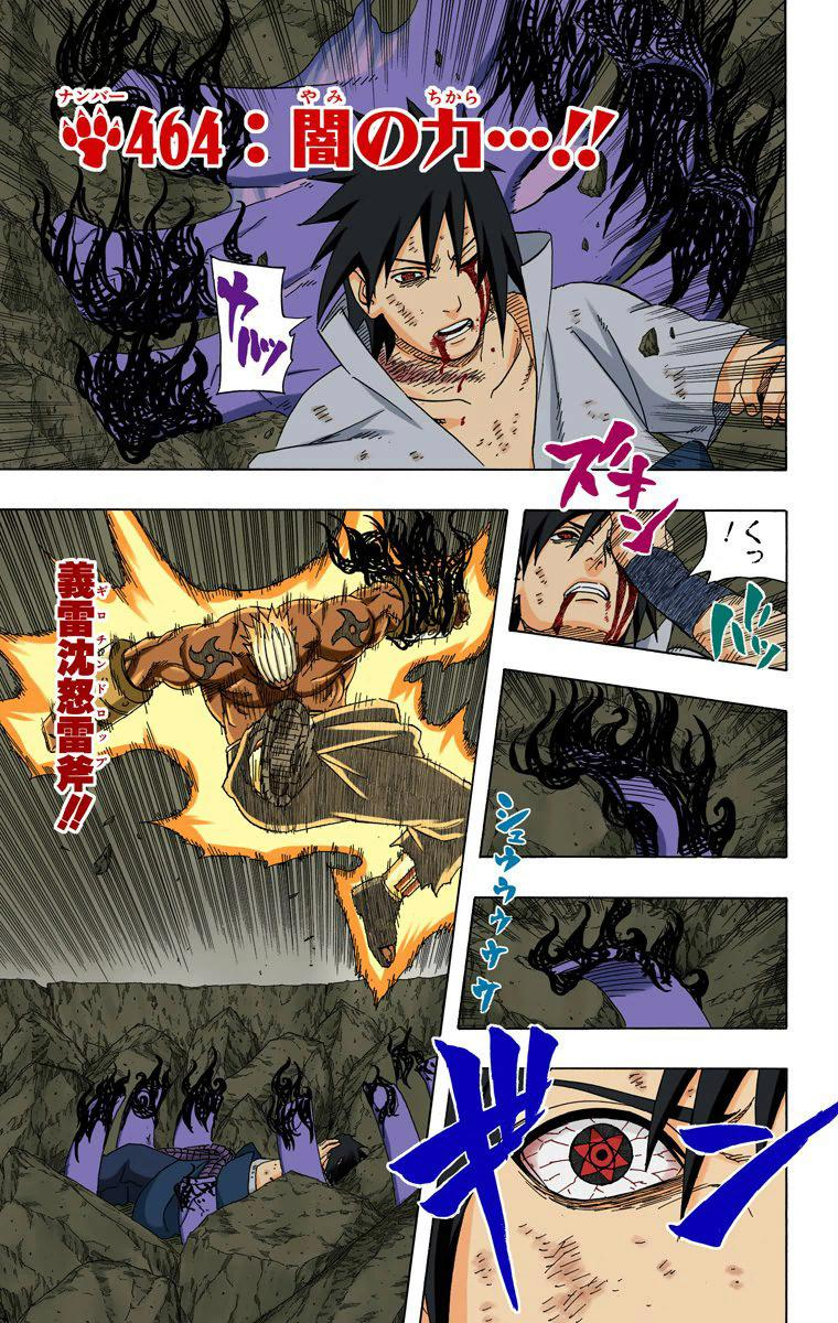 Sasuke mataria a Tsunade no lugar do Danzou? - Página 3 00610