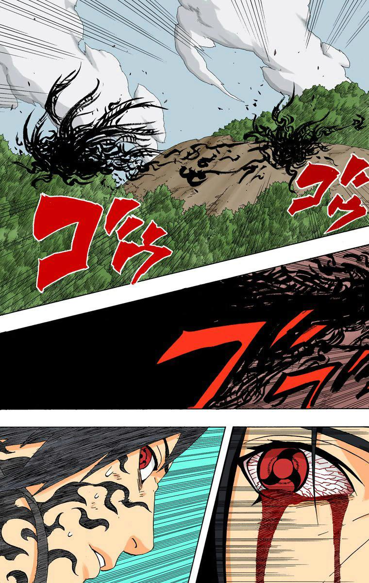 Jiraiya, Kushina e Naruto vs Itachi e Sasuke 01011