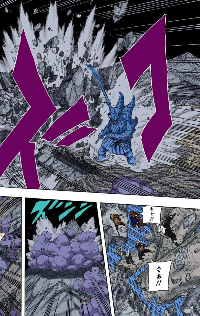 Hashirama e Madara EMS vs Todos os Ninjas nivel Kage  02710