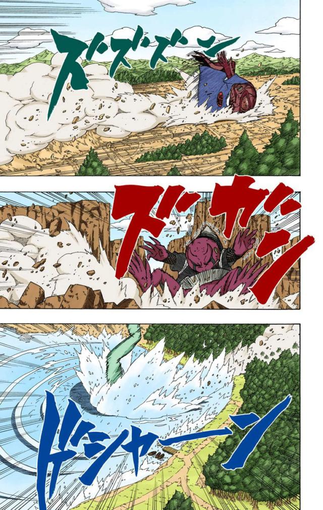 Tamanho das Criaturas de Naruto  03411