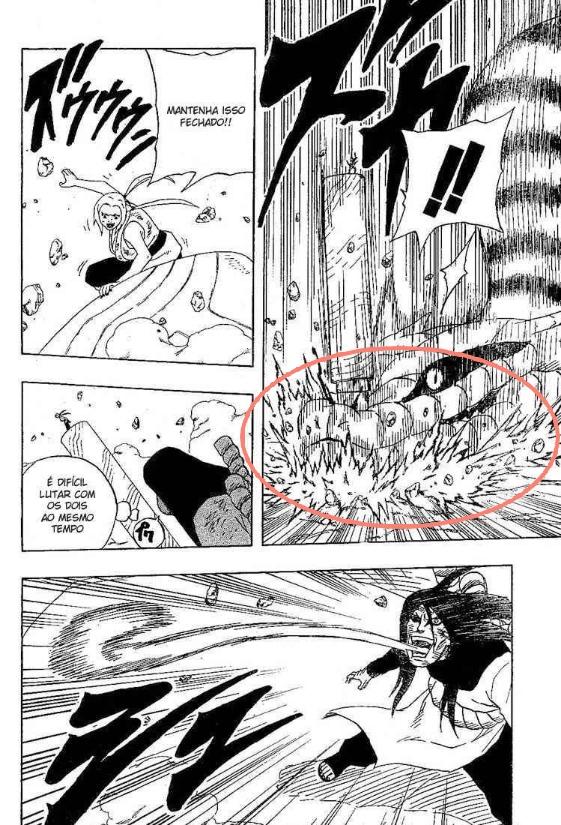 Kisame e Kakashi  VS  Gaara e Tsunade Image273