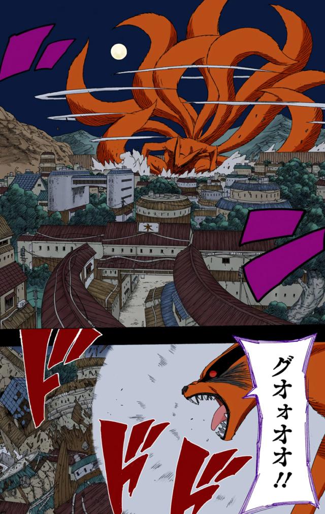 Tamanho das Criaturas de Naruto  Narut111