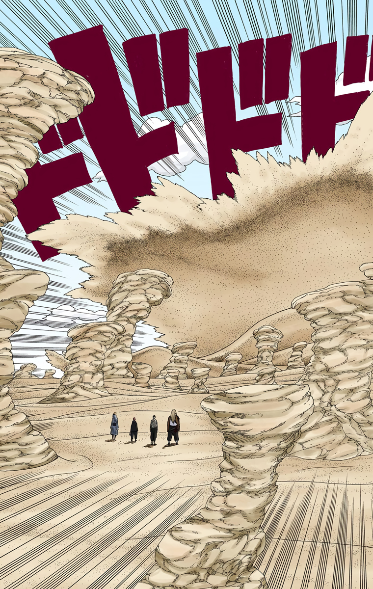 Gaara auge vs Trindade Pain Naruto35