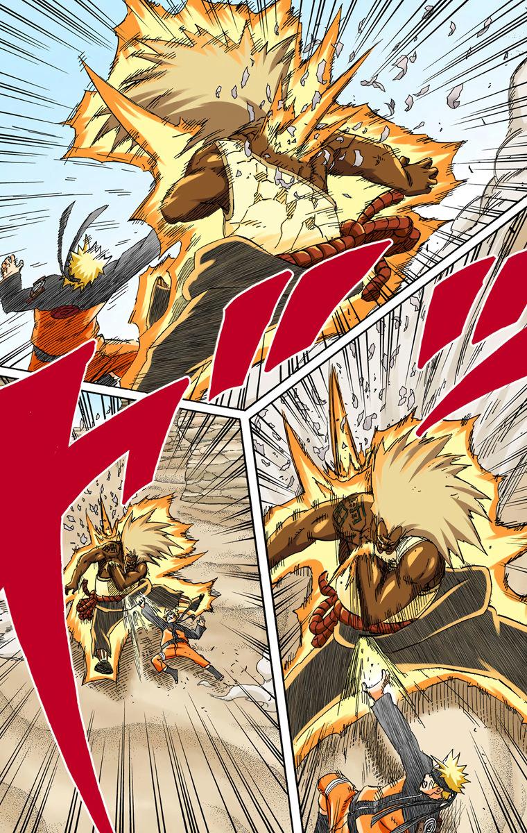 Tsunade vs Sandaime Raikage Naruto64