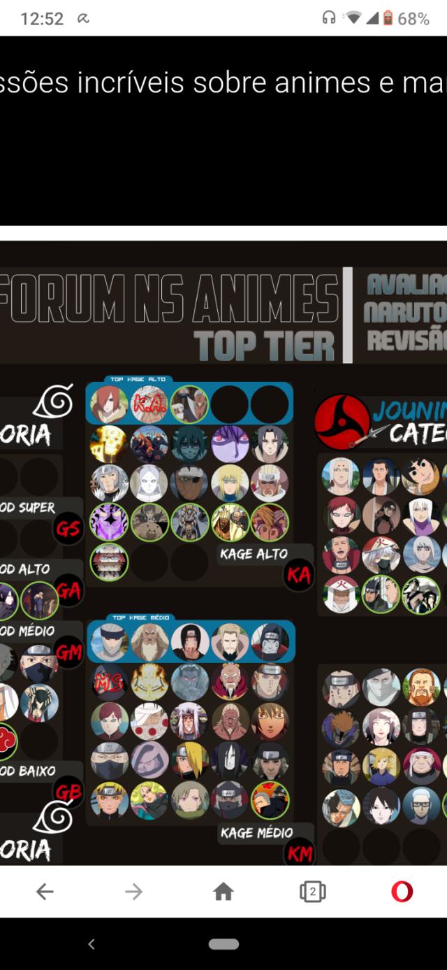 Hashirama e Madara EMS vs Todos os Ninjas nivel Kage  - Página 2 Scree114