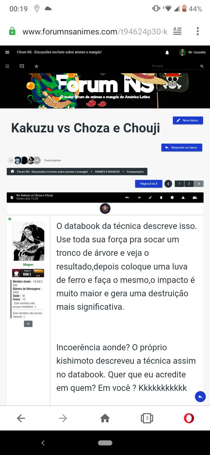 Kakuzu vs Choza e Chouji - Página 3 Scree128