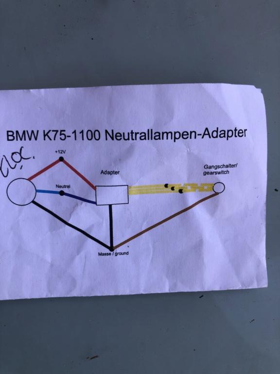 K100 Rs café racer Neutral gear 3d23d310