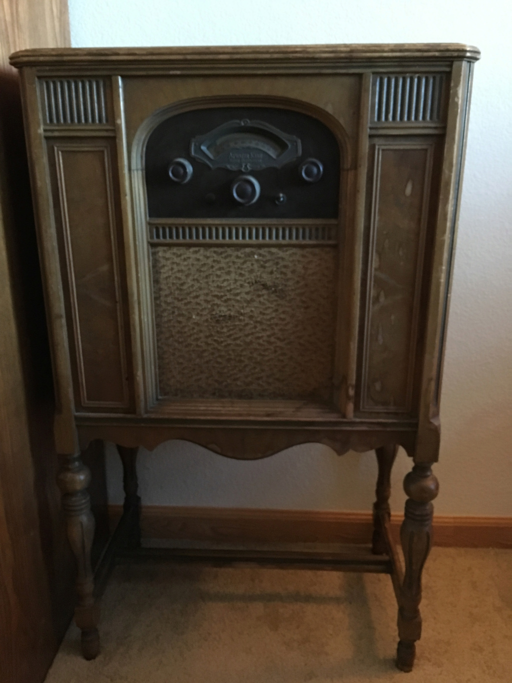 Antique Radio Restoration Atwate11