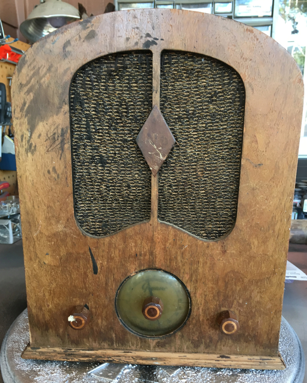 Antique Radio Restoration Grunow11