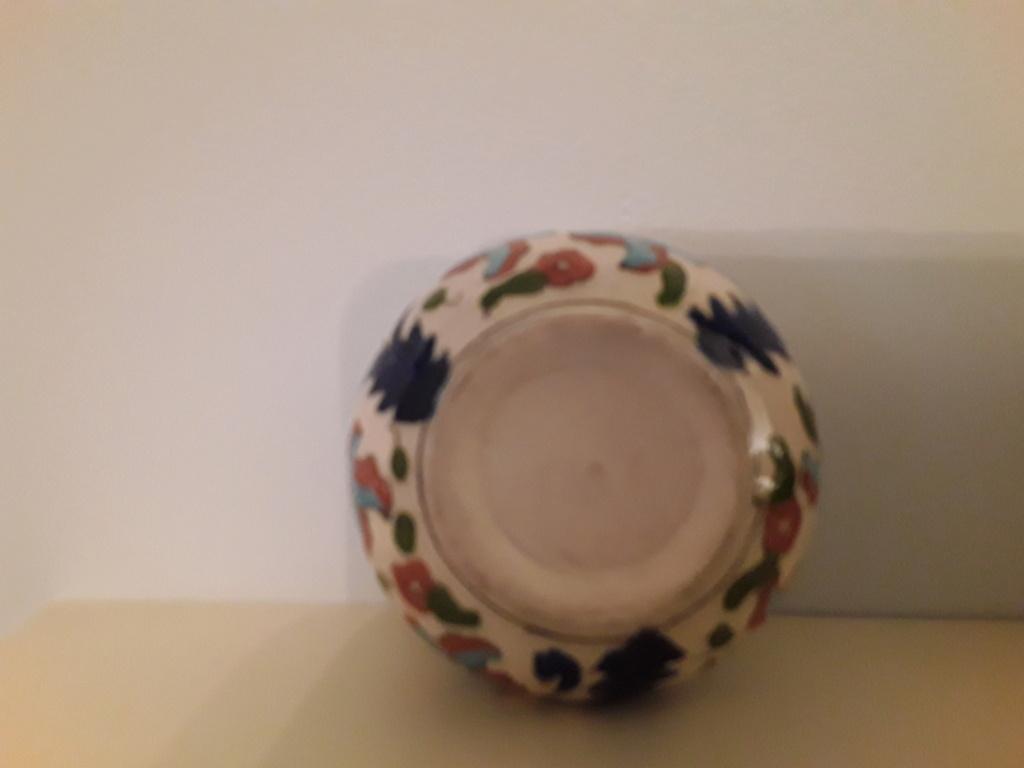 Cute little hand painted pot. 20200912