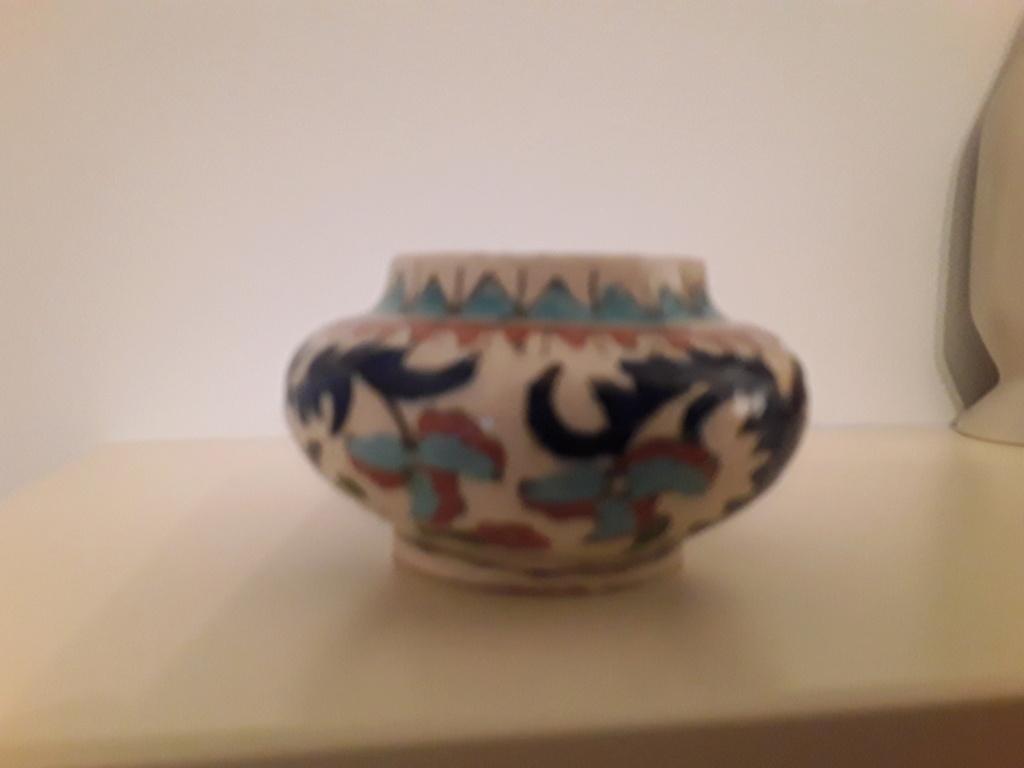 Cute little hand painted pot. 20200913