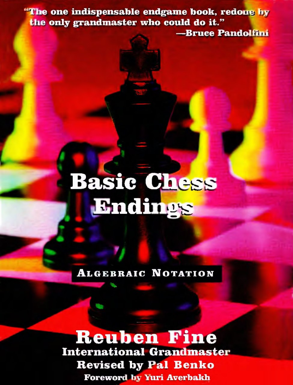 Basic Chess Endings Book by Reuben Fine   Img_2095