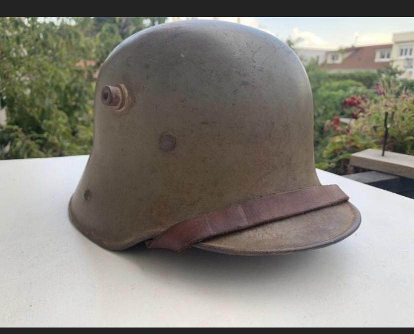 Encore un casque Stahlhelm 1653a310