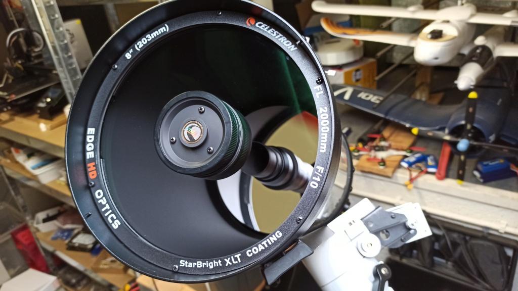Vendu : Celestron C8 Edge-HD Starbright XLT + accessoires  Img_2012