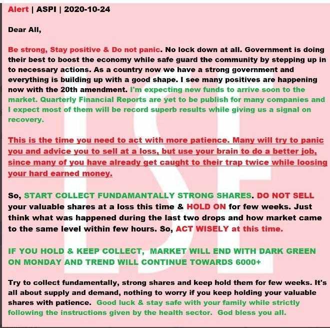Market tilt towards ASPI 5000 Screen15