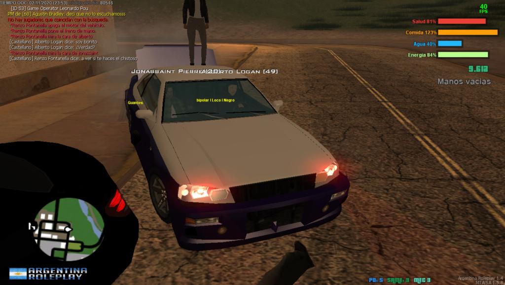 [Reporte] Alberto Logan DM - Car Kill - NRA  Mta-sc18