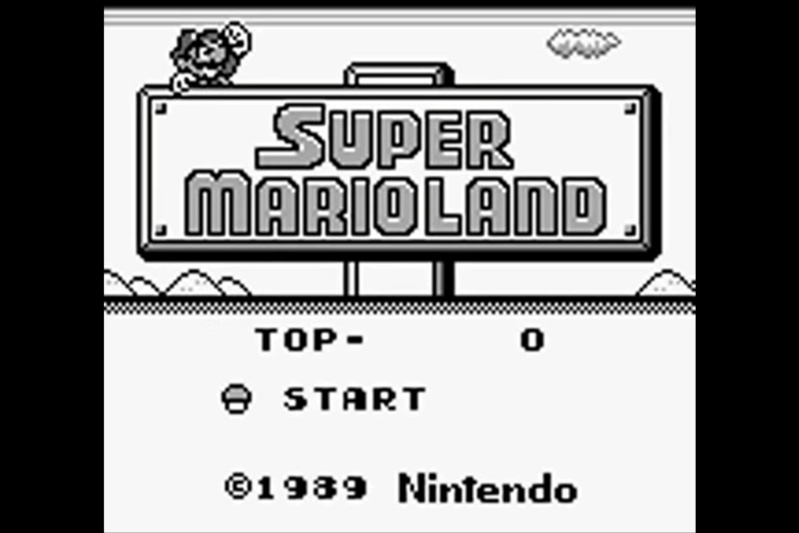 (GB)   [TEST] Super Mario Land Game Boy 124